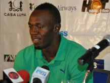Usain Bolt In Cayman