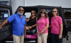 Bernice Scott wins Breast Cancer Foundation Jeep Wrangler