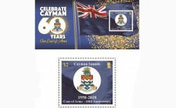 New Stamp Issue Sales CI Coat of Arms