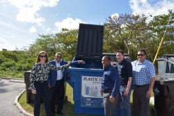 DEH Opens Upgraded Recycling Depot