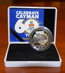 Second mintage of silver coin to commemorate Coat of Arms 60th anniversary