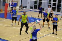 Camana Bay Corporate Volleyball League Swings into High Gear
