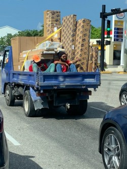 RCIPS Traffic Unit Warns Against Vehicles Travelling With Unsafe Loads