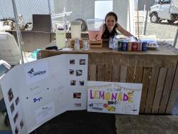 Girl Sells Lemonades for Dog Charity