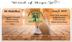 5th Wind of Hope 5K to Benefit the Nadine Andreas Residential Home for Children