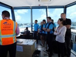 CPHS Students Tour New Airport Terminal