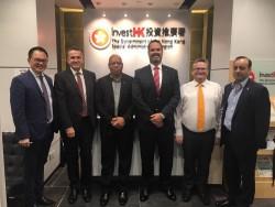 Cayman Delegation in Hong Kong for Talks