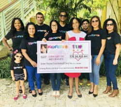 KIDFEST 2019 Raises over $16,000 in Memory of their Son for CHD Cause