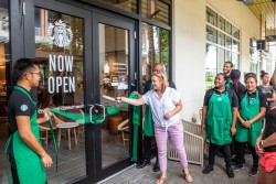 Starbucks opens in Camana Bay