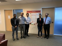 St Matthew's University donates funds to the Cayman Heart Fund