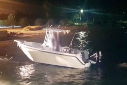 Five Men Arrested and Two Charged in Relation to Drug Boat Interception