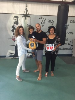 CHF Donating to CI Boxing