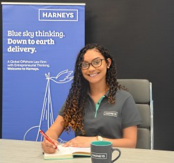 Harneys awards young Caymanian with legal scholarship