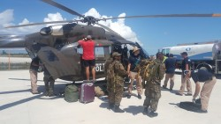 RCIPS Helicopter Continues Deployment in The Bahamas
