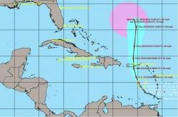 Tropical Storm Karen 23-Sept-2019 10 AM Update