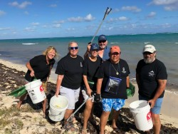 Pirates Against Plastic Beach Clean-Up Returns For Second Year