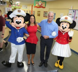 Disney Cruise Line celebrates the season with Lighthouse School