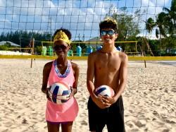 Prince and Princess of the Beach