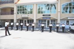 RCIPS Train Twelve (12) New Recruits, 25 June