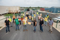 Airfield Upgrade Project Team Donates to Cayman Food Bank