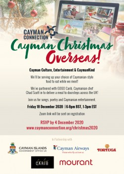Cayman Connection to host virtual Christmas event to support Caymanians oversea