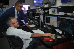 Minister of Tourism Visits Cayman Airways
