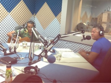 Hi Tide Visits Radio Cayman