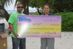 Check presentation to Alta Solomon of NCVO
