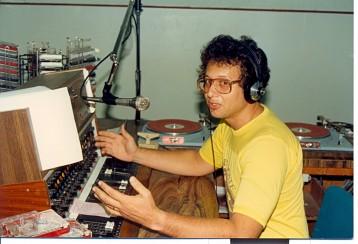 Former Announcer Charles Glidden